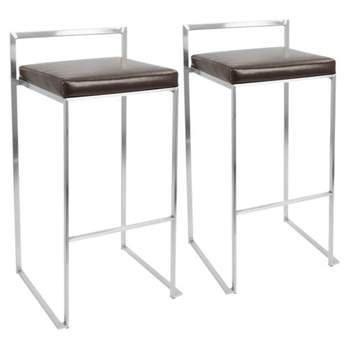 Fuji Stacker Barstool - Set Of 2