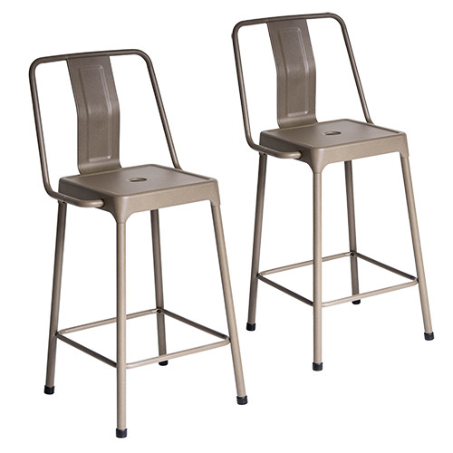 Energy Counter Stool - Set Of 2