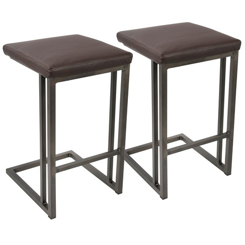 Roman Counter Stool - Set Of 2