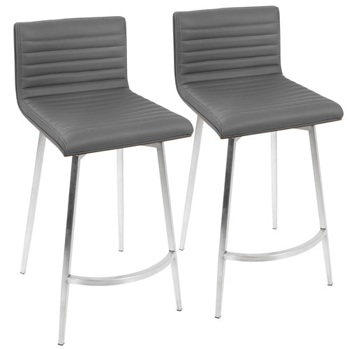 Mason Swivel Counter Stool - Set Of 2