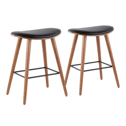 Saddle Counter Stool - Set Of 2