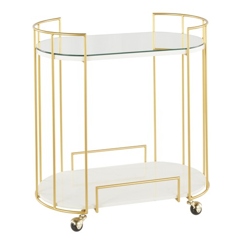 Canary Bar Cart