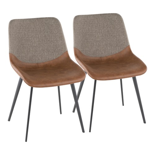 Outlaw Two-tone Chair - Set Of 2