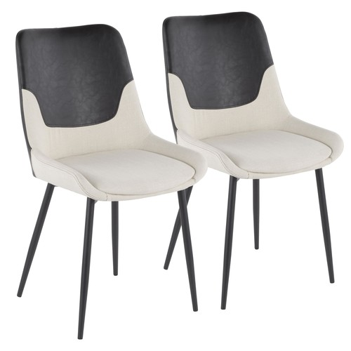 Wayne Two-tone Chair - Set Of 2