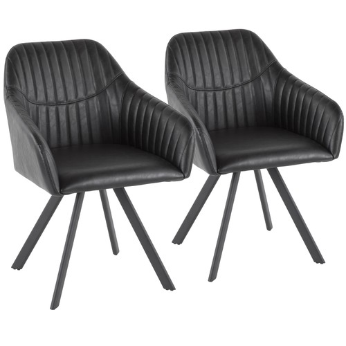 Clubhouse Pleated Chair - Set Of 2