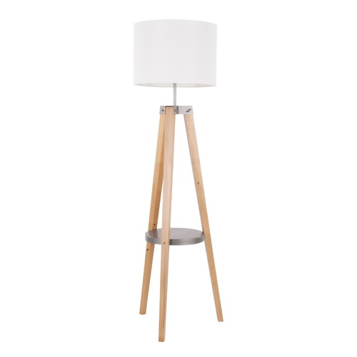 Compass Shelf Floor Lamp