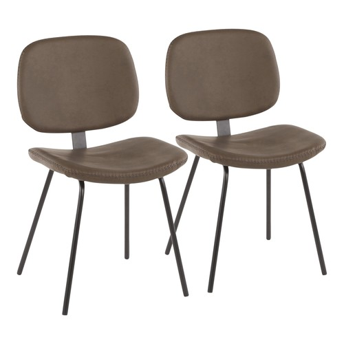 Industrial Nunzio Chair - Set Of 2