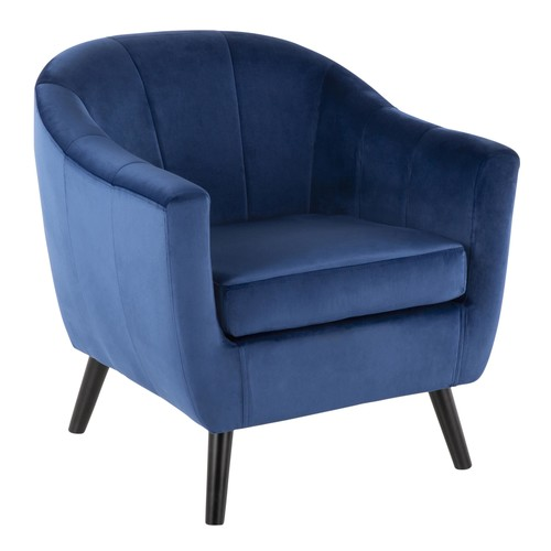 Rockwell Velvet Accent Chair