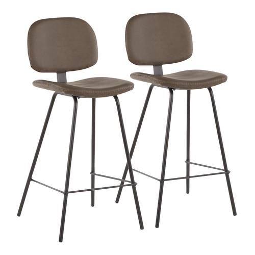 Industrial Nunzio Counter Stool - Set Of 2