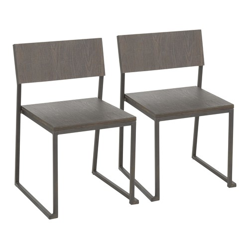 Industrial Fuji Chair - Set Of 2