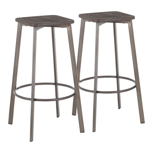 Clara Square Barstool - Set Of 2