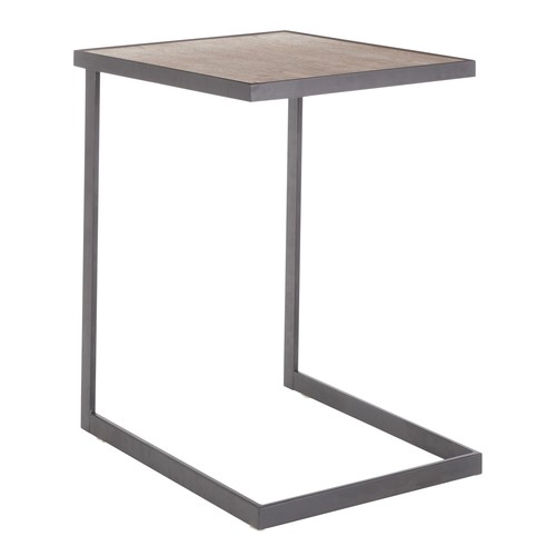 Industrial Zenn End Table