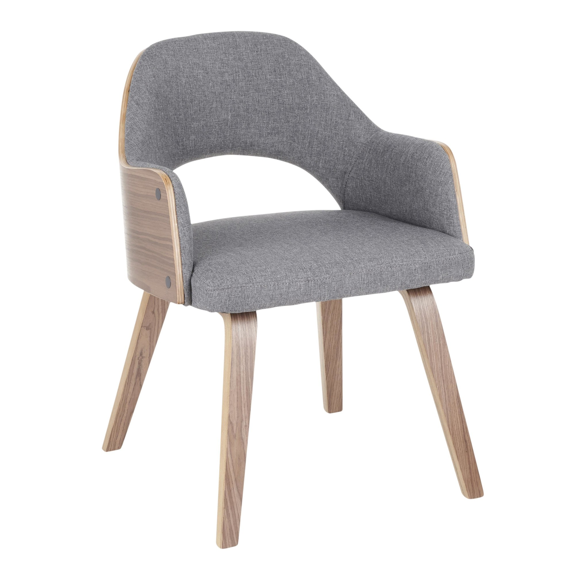 Miraculous Rollo Dining Chair Set Of 2 Lumisource Stylish Decor Ncnpc Chair Design For Home Ncnpcorg