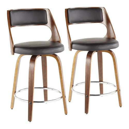 Cecina 24'' Counter Stool - Set Of 2