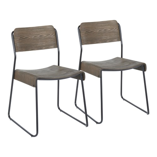 Dali Industrial Chair - Set Of 2