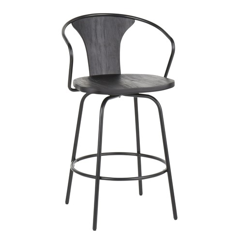 Waco Industrial Counter Stool