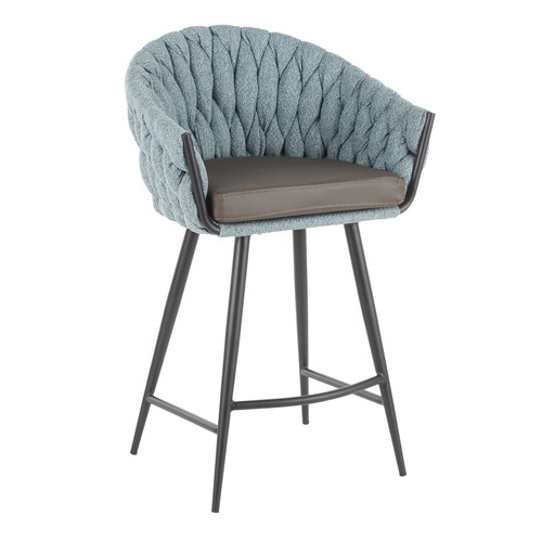Braided Matisse Counter Stool