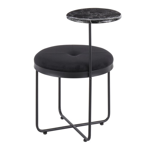 Cosmo Ottoman Side Table