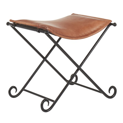 Ali Leather Stool