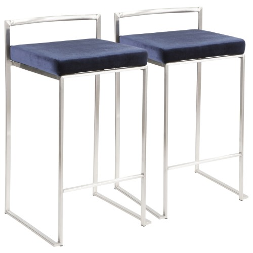 Fuji Stacker Counter Stool - Set of 2