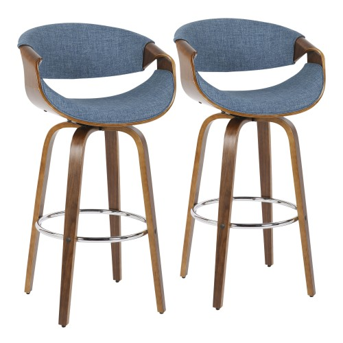 "Curvini 30"" Barstool - Set of 2"