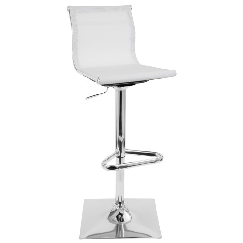 Mirage Bar Stool (White)